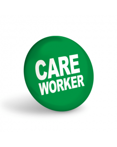 Care Worker Badge (Pack of 10)