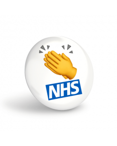 Clap the NHS Button Badges (Pack of 10)