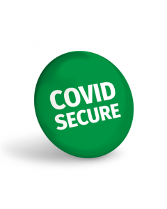 Covid Secure Badge (Pack of 10)