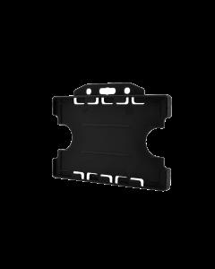 Rigid Card Holder, Black (Pack of 10)