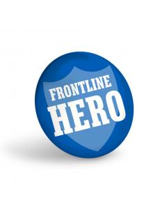 Frontline Hero Badge (Pack of 10)