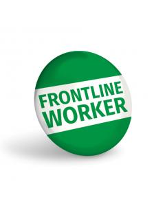 Frontline Worker Badge (Pack of 10)
