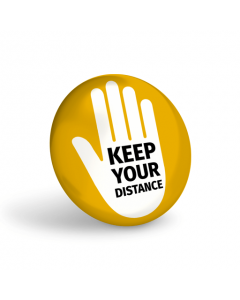 Keep Your Distance Badge (Pack of 10)