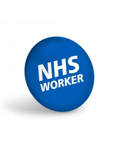 NHS Worker Badge (Pack of 10)