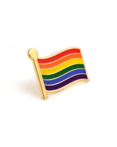 Rainbow Flag PRIDE Badge (Pack of 10)
