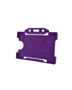 Rigid Card Holder, Purple (Pack of 100)
