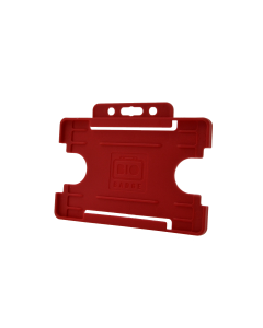 Rigid Card Holder, Red (Pack of 100)