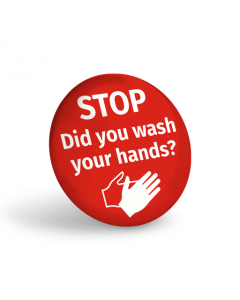 Did You Wash Your Hands Badge (Pack of 10)