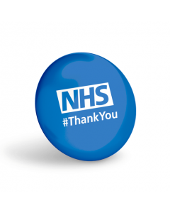 NHS #ThankYou Blue Button Badges (Pack of 10)