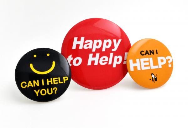 """All you need to know about """"Happy To Help"""" badges"""