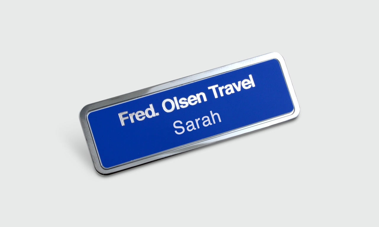 Metal Name Badge