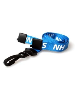 15mm NHS Lanyards with Breakaway & Plastic J Clip (Pack of 10)
