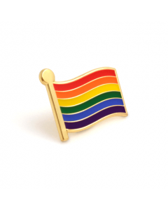 Rainbow Flag PRIDE Badge (Pack of 2)