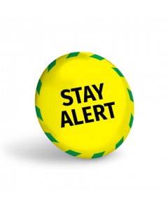Stay Alert Badge (Pack of 10)