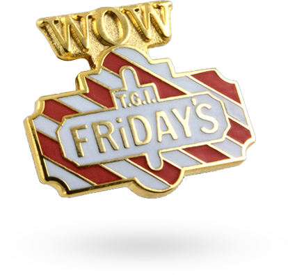 TGI Friday badge example